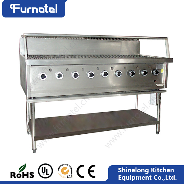 Furnotel CE Heavy Duty Industrial portable Chicken gas barbecue grill