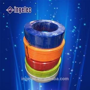 china supplier high quality 4mm electric wire flat electrical wire spool