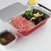 airline disposable aluminium foil food containers/tray