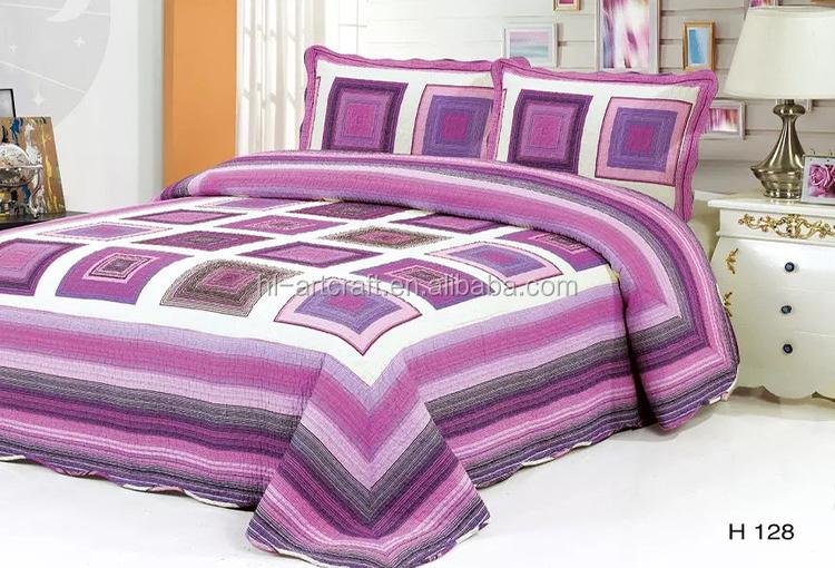 couvre lit en patchwork pas cher Gros Pas Cher Ensembles De Literie Patchwork Coton Couvre lit  couvre lit en patchwork pas cher