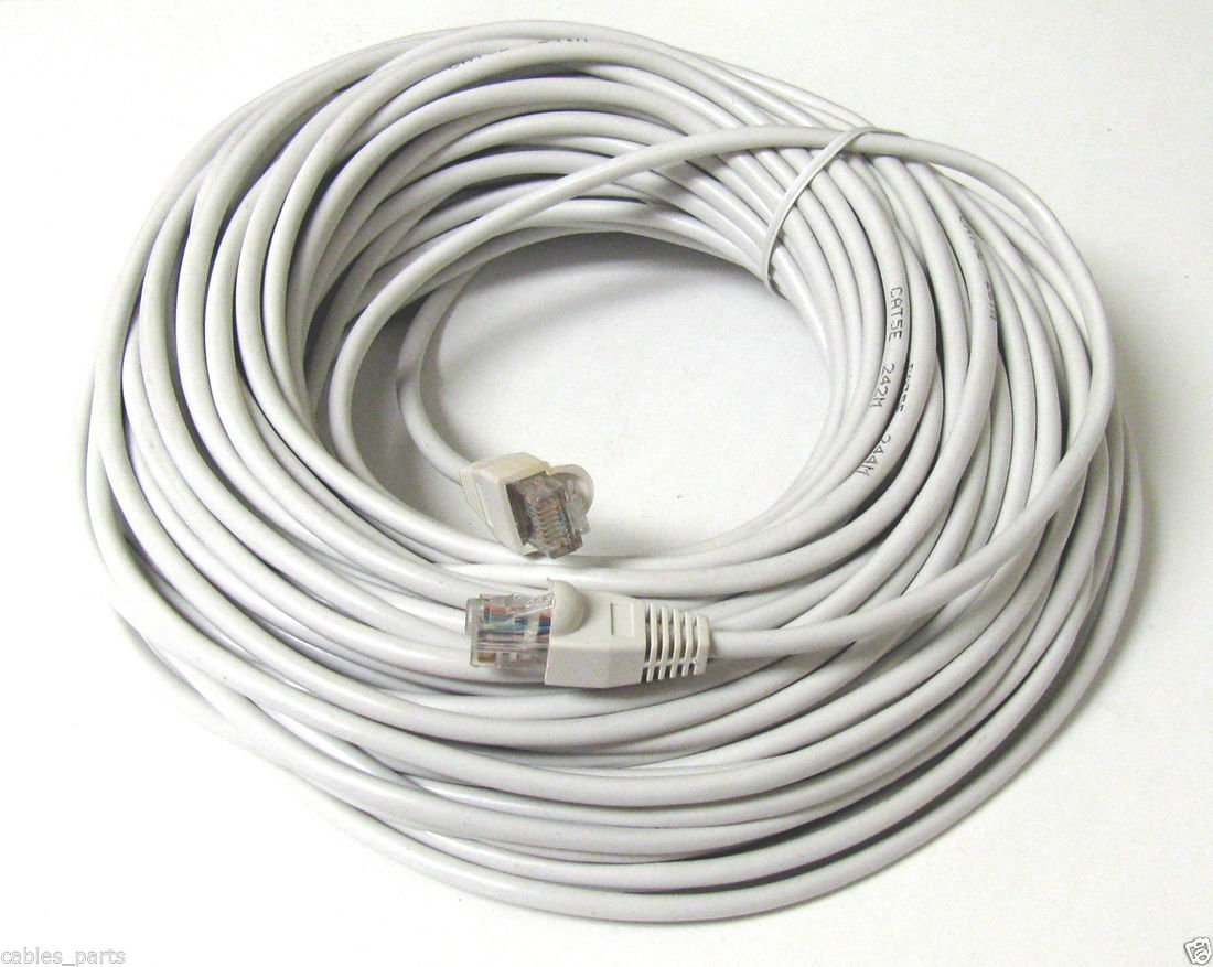 for Google WiFi High-Speed Fully Copper Lead 33ft - 2 Pack Servers and Data Transfer Routers EXINOZ Ethernet UTP CAT6 Network Flat Patch Cable