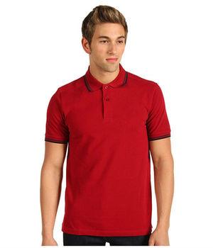 33e6468a Custom Design Fashion Men's Polo Collar Wine Red Tshirt - Buy Wine ...