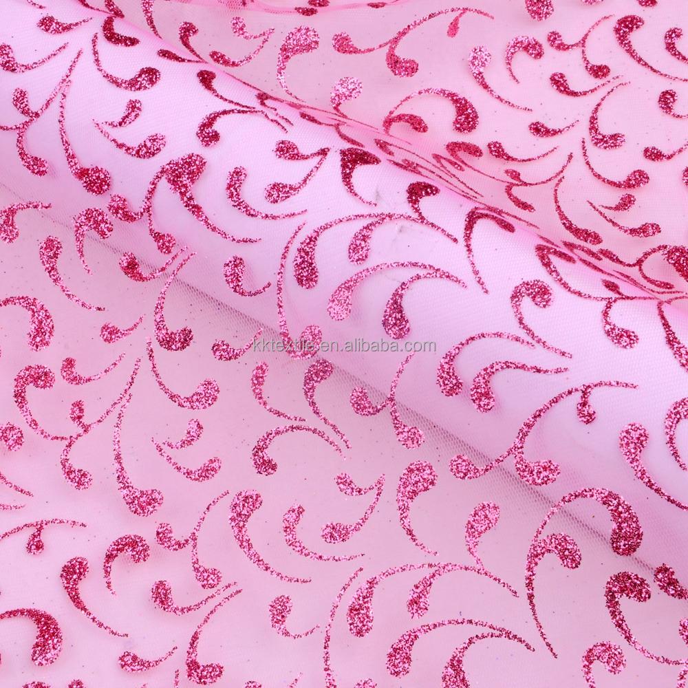 Indio Bling paillette tela del cordón para los vestidos de boda ...