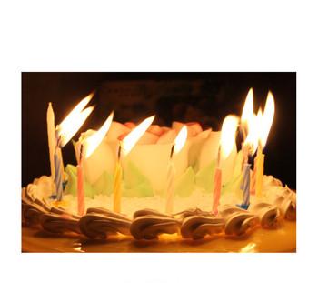 Queena Magic Color Thread Birthday Candle