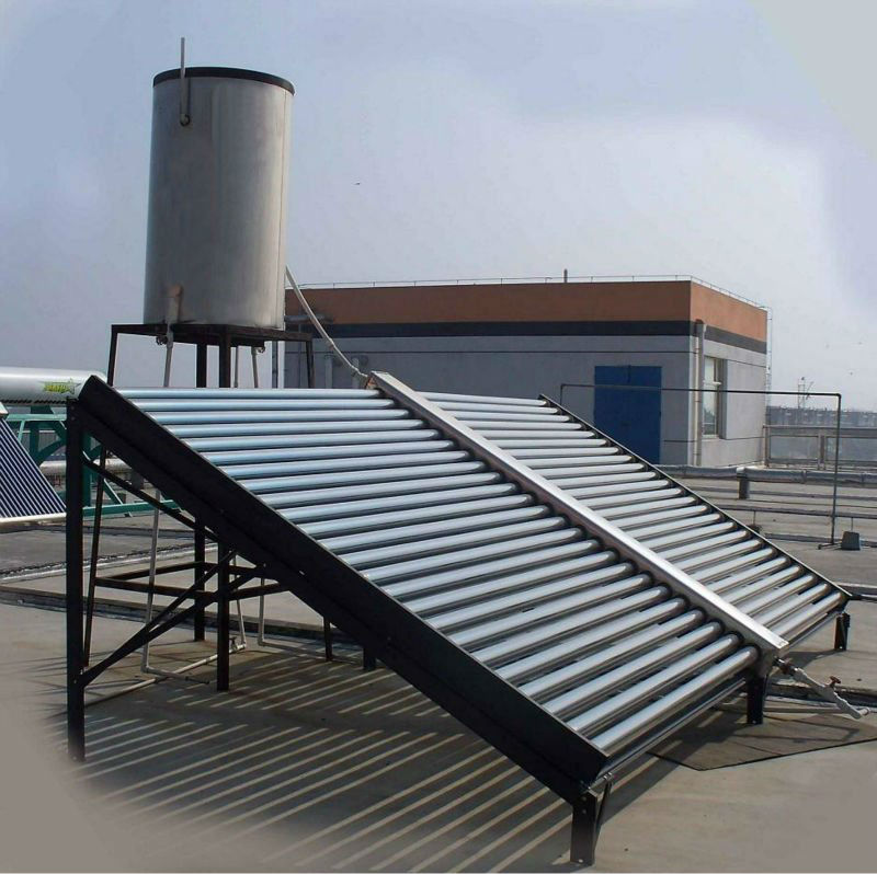 Proyecto de calefacci n solar piscina termotanque solar a - Solar hot water heater for swimming pool ...