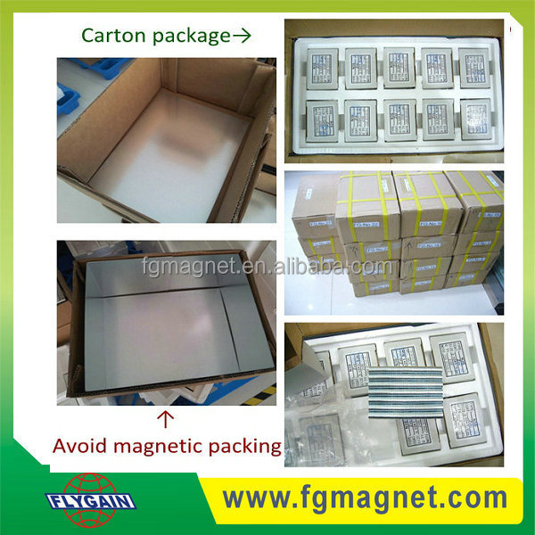 Powerful Ni/ Zn Coating N35/N38/N42/N45/ N52 Screw Hole Magnet