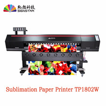 High quanlity 1.8m direct to fabric sublimation printer with 2 or 3 pcs 5113 head