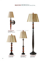 Energy saving lamp rice paper lamp shades antique table lamps for hotel whole setlighting supply from zhongshan