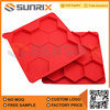 Top Quality Cake Baking Red Silicone Mold