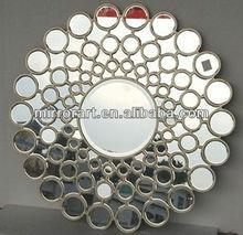 entregar rpidamente crculos de pared espejo decorativo