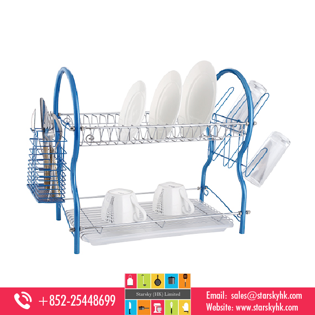 stainless steel kitchen dish rack ,Plated Dish Rack , Plate Dish Drying Rack With Stand