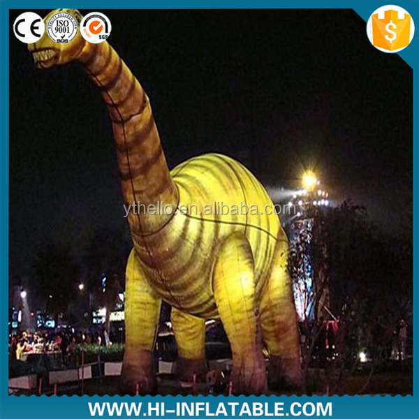 Advertisement or events giant inflatable triceratops inflatable balloon dinosaur