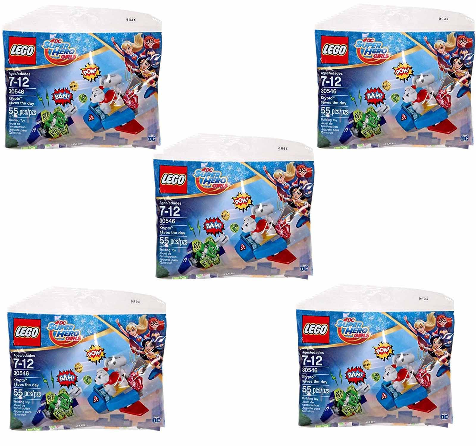Cheap Lego Sets Find Deals On Line At Alibabacom Drawbridge Defense 7079 Get Quotations Dc Super Hero Girls Krypto Saves The Day Polybagged 55 Piece Set 30546