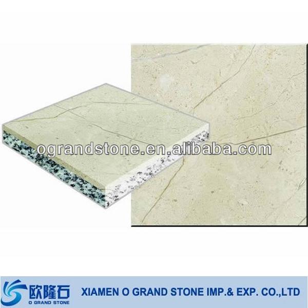 Cream Colored Artificial Stone Slab