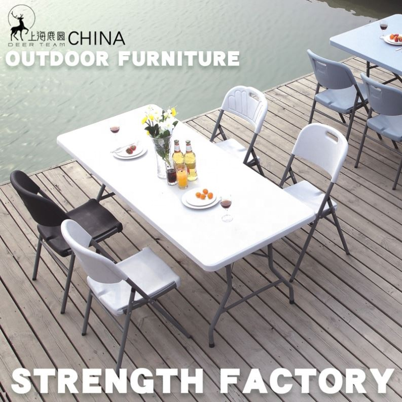 American popular high quality plastic chair and table for event