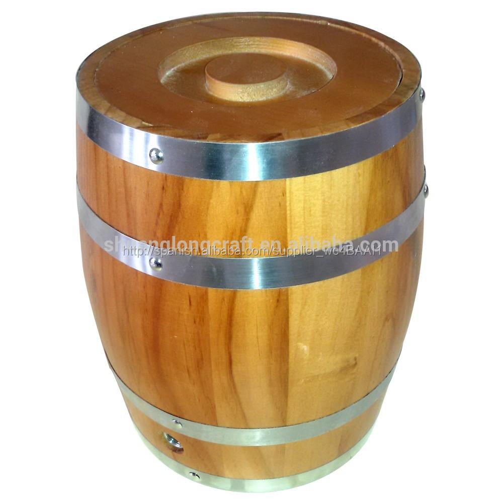 Proveedor de china de peque os barriles de cerveza for Barriles de madera bar
