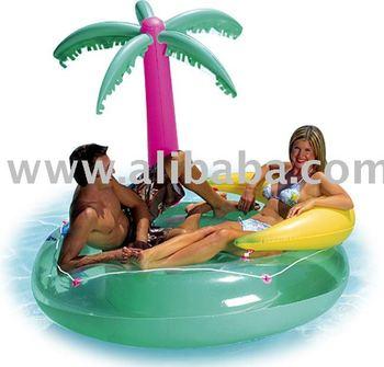Inflatable Island Inflatable Tropical Palm Tree Island