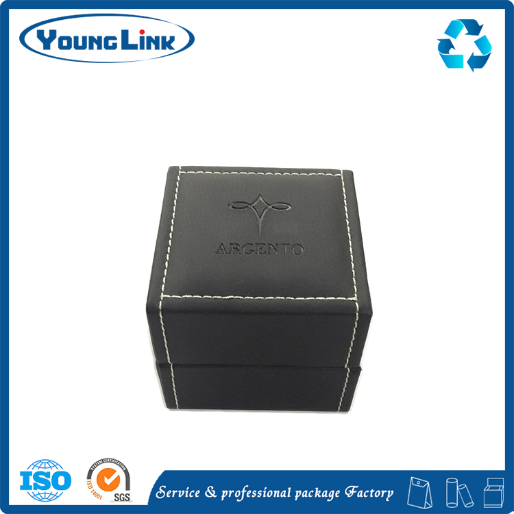 Top Quality PU Leather Wooden Watch Box with Custom Logo