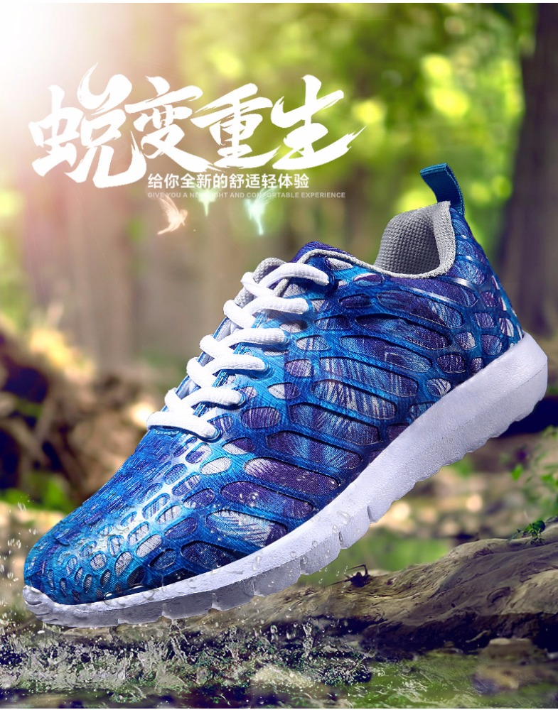 2017 fashion sneakers flyknit active sports shoes neon colorful woman or man walking shoes