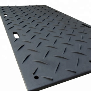 Road way system/ High Density Polyethylene Road Mats/Blue HDPE ground road mats