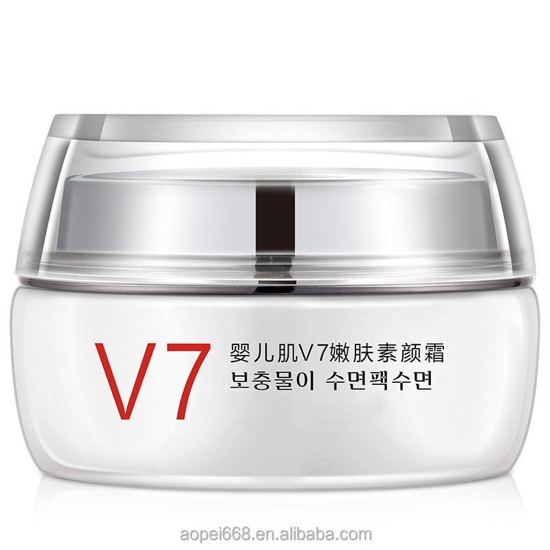 Hot sale V7 toning light cream whitening cream baby skin korea bb cream and concealerbb guangzhou supplier