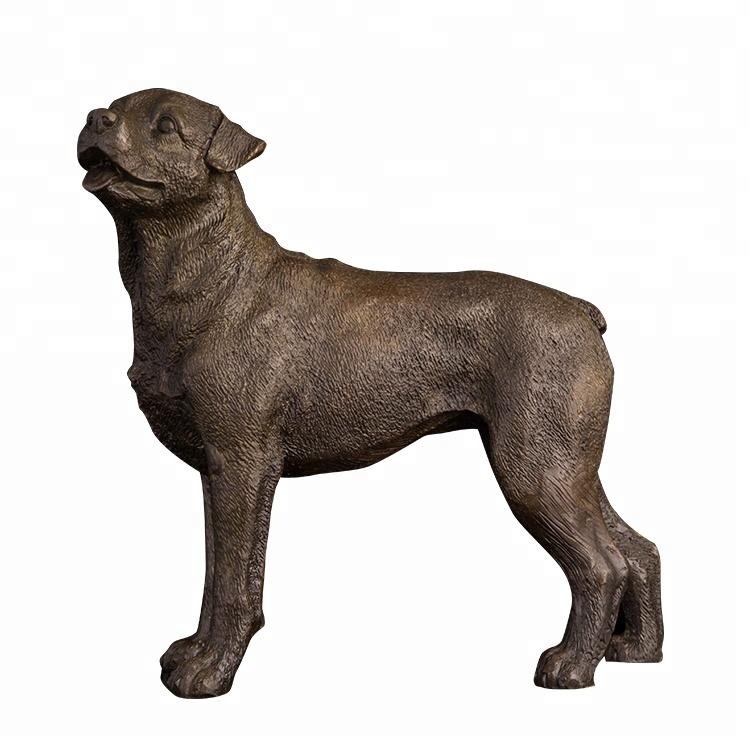 Voorraad Levensgrote Hond Standbeelden Voor Home Decoratie