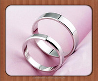Wholesale Plain engagment ring for couples ebay 925 sterling silver ring blanks
