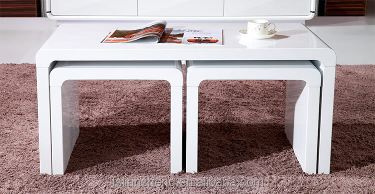 2015 hot selling high gloss white nesting coffee tableside table 2015 hot selling high gloss white nesting coffee tableside table watchthetrailerfo