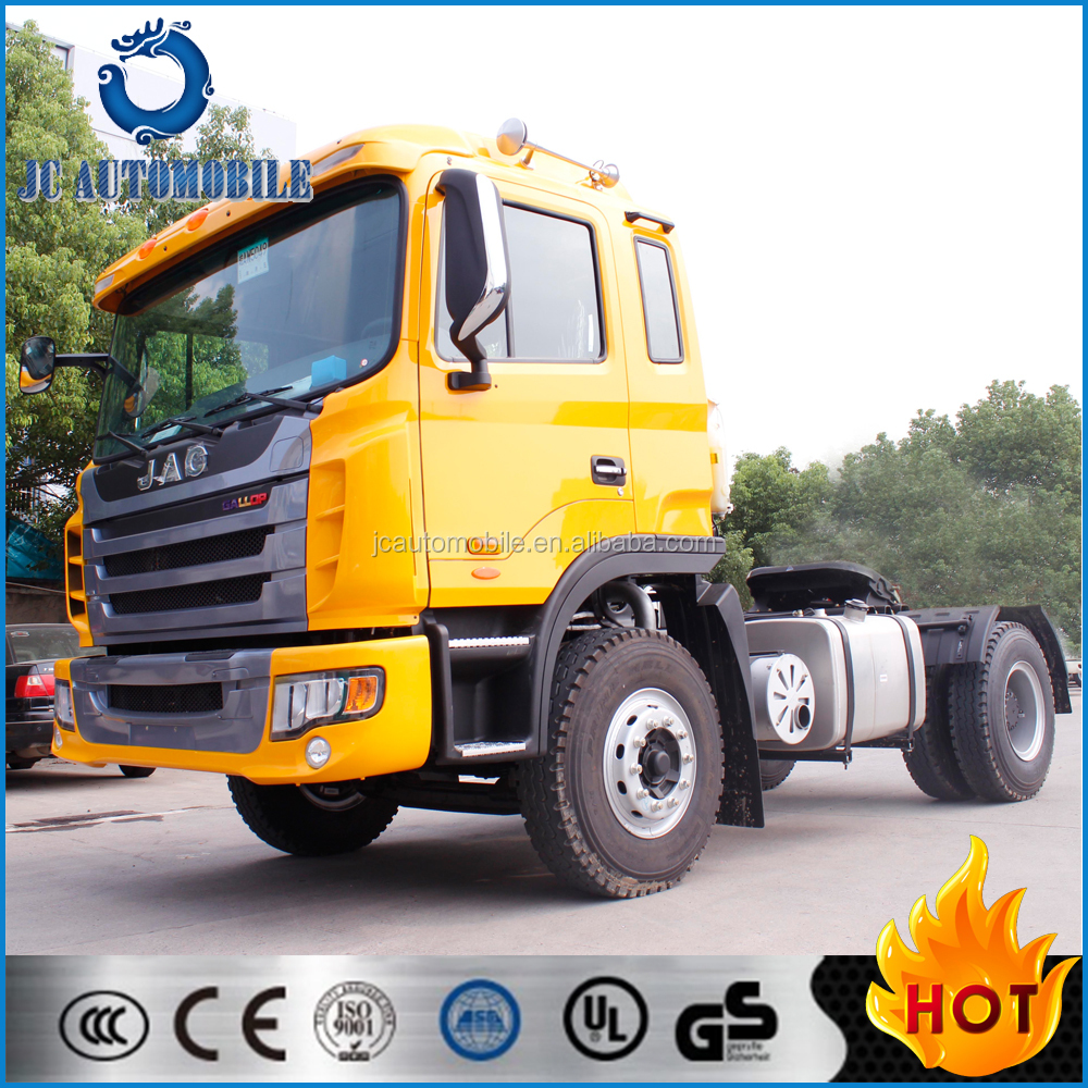 China famous brand 4x2 JAC tractor truck/tracteur Camion/Tractor Head for Sale