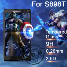 0.26mm 9H Explosion Proof Anti scratch LCD Tempered Glass Film For Lenovo S8 S898 S898t Screen Protector Film