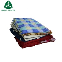 Used bed sheets bale second hand textile cambodia style