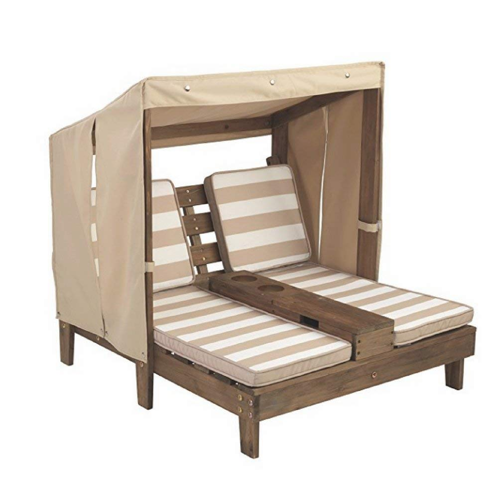 Portable Chaise Lounge For Kids, Wood Material, Perfect For Kids Up To 3 Years Of Age, Ideal For Outdoor Spaces, Stylish Design, Sturdy And Durable Construction & E-Book Home Decor