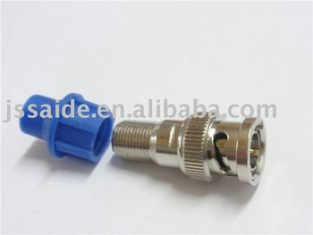 729>bnc Male To F Female Connector With Cap