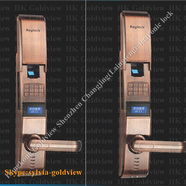 Zinc Alloy Modern High Security Door Lock Parts High