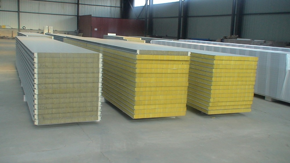 High quality rockwool rock wool fire rated sandwich for Rockwool fire rating