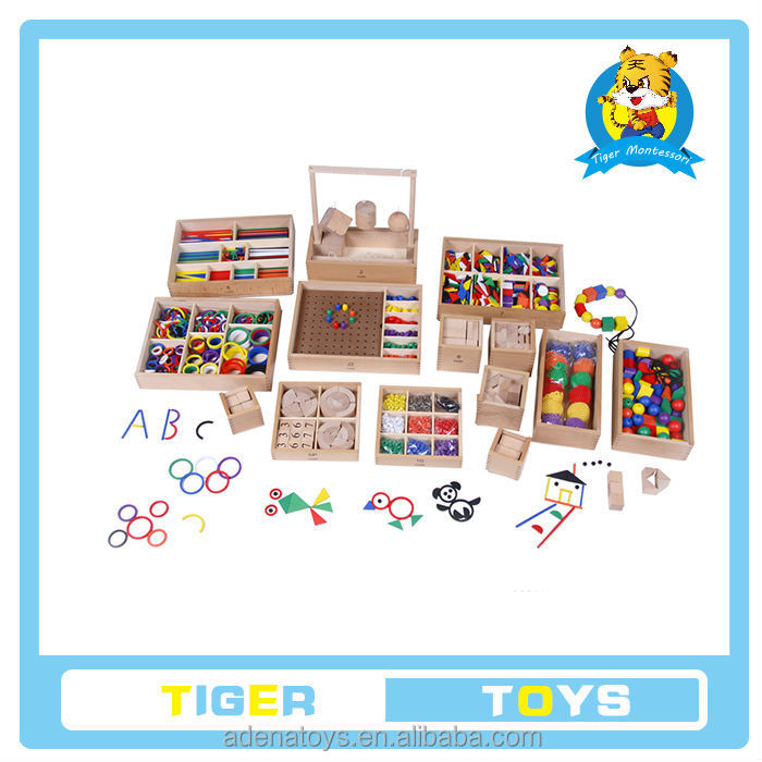 The wooden educational toys.Wooden Montessori Materials.pre school professional froebel gifts wooden educational toys .