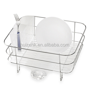 Rust-proof stainless steel kitchen utensil holder/hanging dish drying rack/kitchen unique dish rack