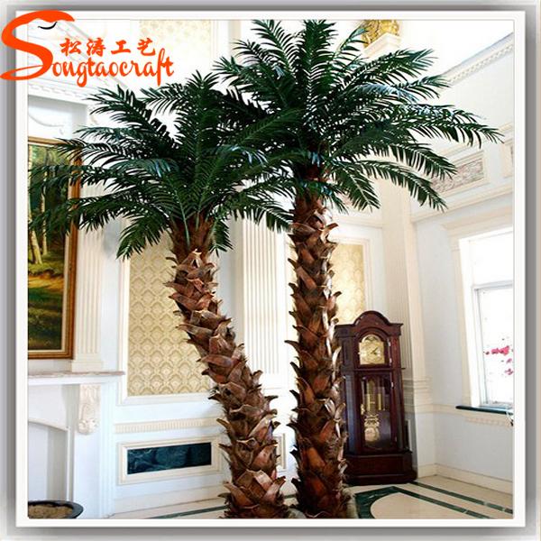plastic artificial palm tree indoor decor ornamental steel palm tree buy artificial palm tree. Black Bedroom Furniture Sets. Home Design Ideas
