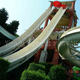 Dubai Professional Dual Lane Water Slides