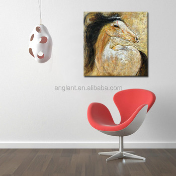 Home Goods Wall Art Canvas Horse Painting - Buy Canvas ...