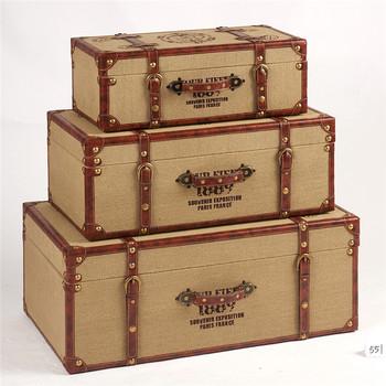 Delicieux New Design Different Size Decorative Storage Suitcase Vintage