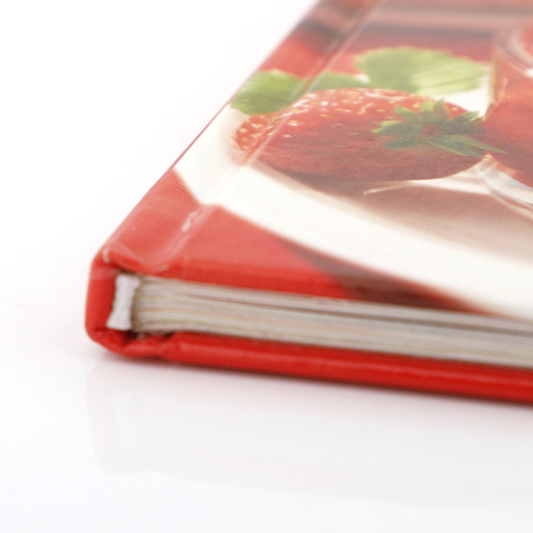 OEM Manufacturer for cook book,food book, menu and recipes booklet printing