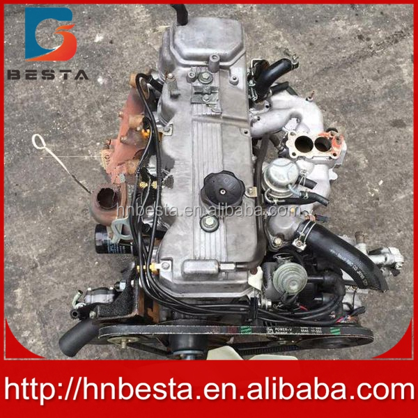 complete 4g54 diesel engine used engine with gear box
