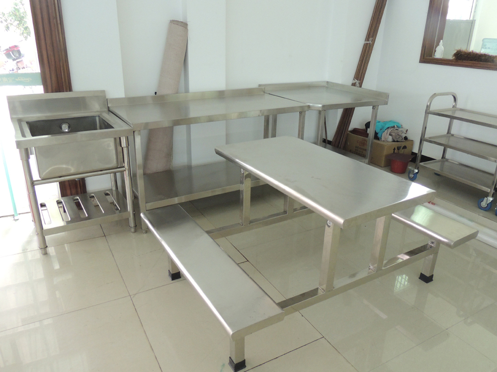 Canteen Dine Tables And Chairs For 6 People Buy Wooden