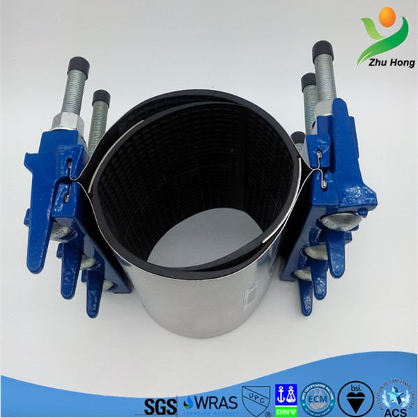 Zr ductile iron medical tube clamp water pipe sleeve