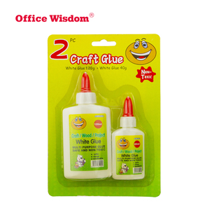 Eco-friendly top selling water based white school glue for wood paper craft