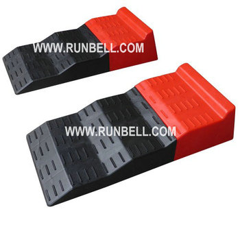 Plastic Leveling Ramps for Single and Tandem Axle Caravans and Motorhomes