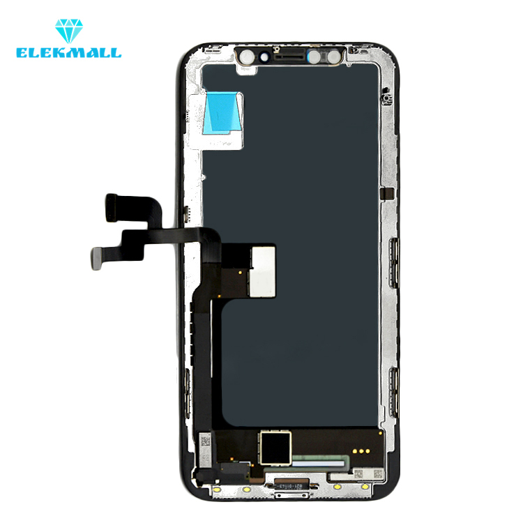 Full Genuine LCD Digitizer Assembly for iPhone X Mobile Spare Parts, for iphone X LCD