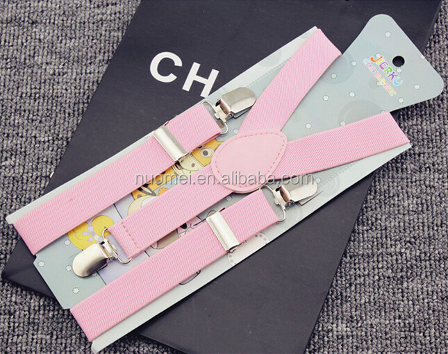 AC6617 fashion suspenders for girls,colorful suspenders,pink suspender