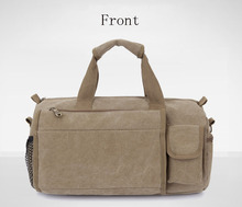 Canvas Travel Tote Luggage Weekend Duffel Bag, Size: 40*22*25cm